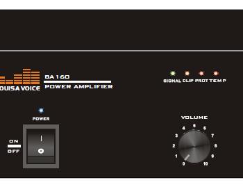 Amplificateur booster BA160
