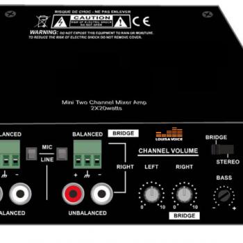 Amplificateur classe D DA220